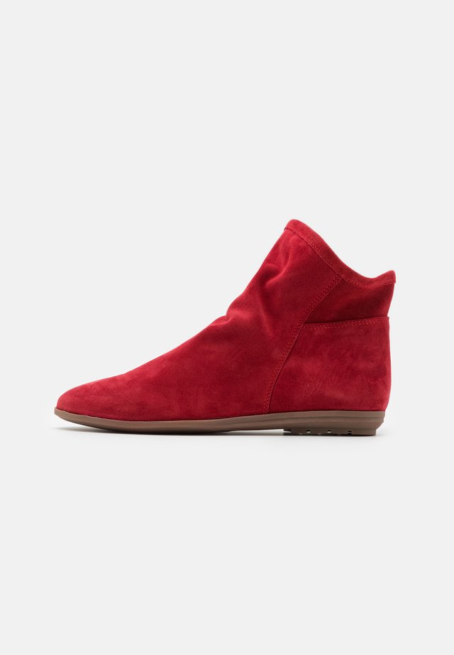 Korte laarzen - rojo