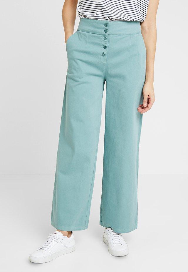 ANEMONE - Pantalon classique - oily green