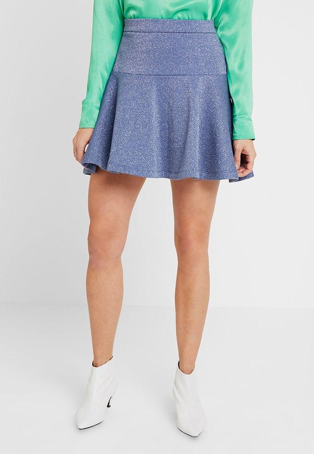 DISCO LADY - A-linjekjol - blue indigo