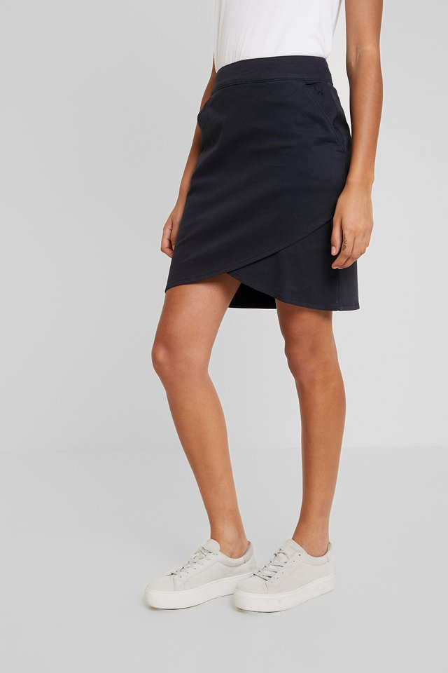 NADIA - Mini skirt - dark navy