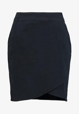 NADIA - Mini skirt - dark navy