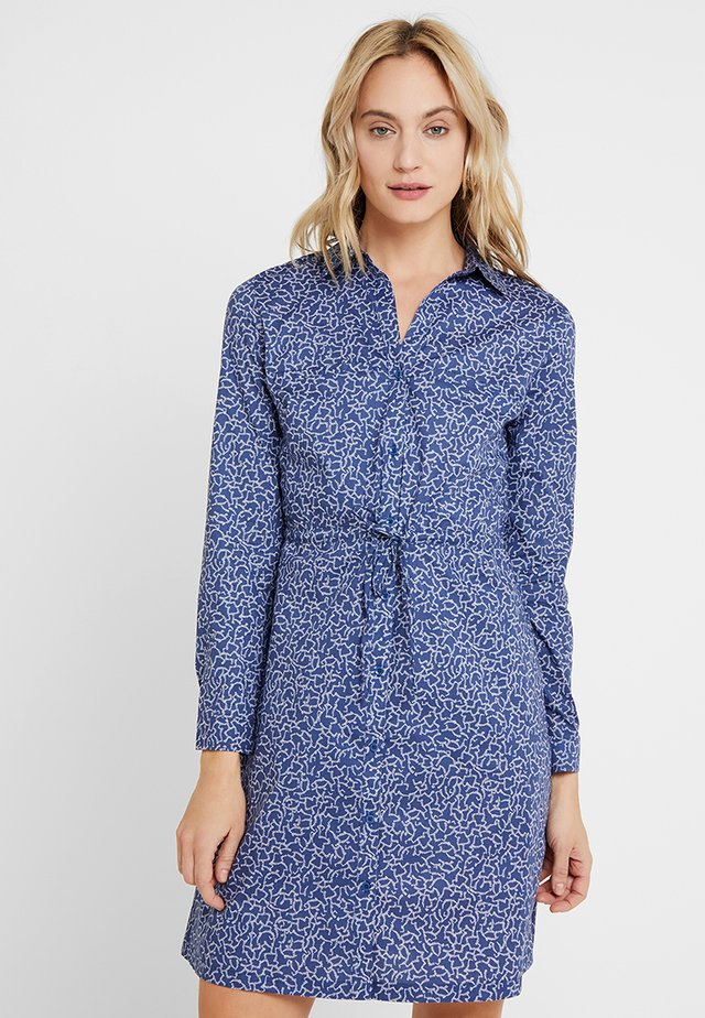 LAURETTE - Shirt dress - move blue