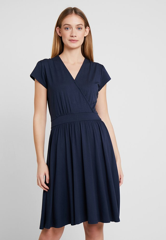 WALKING ON SUNSHINE - Jersey dress - navy