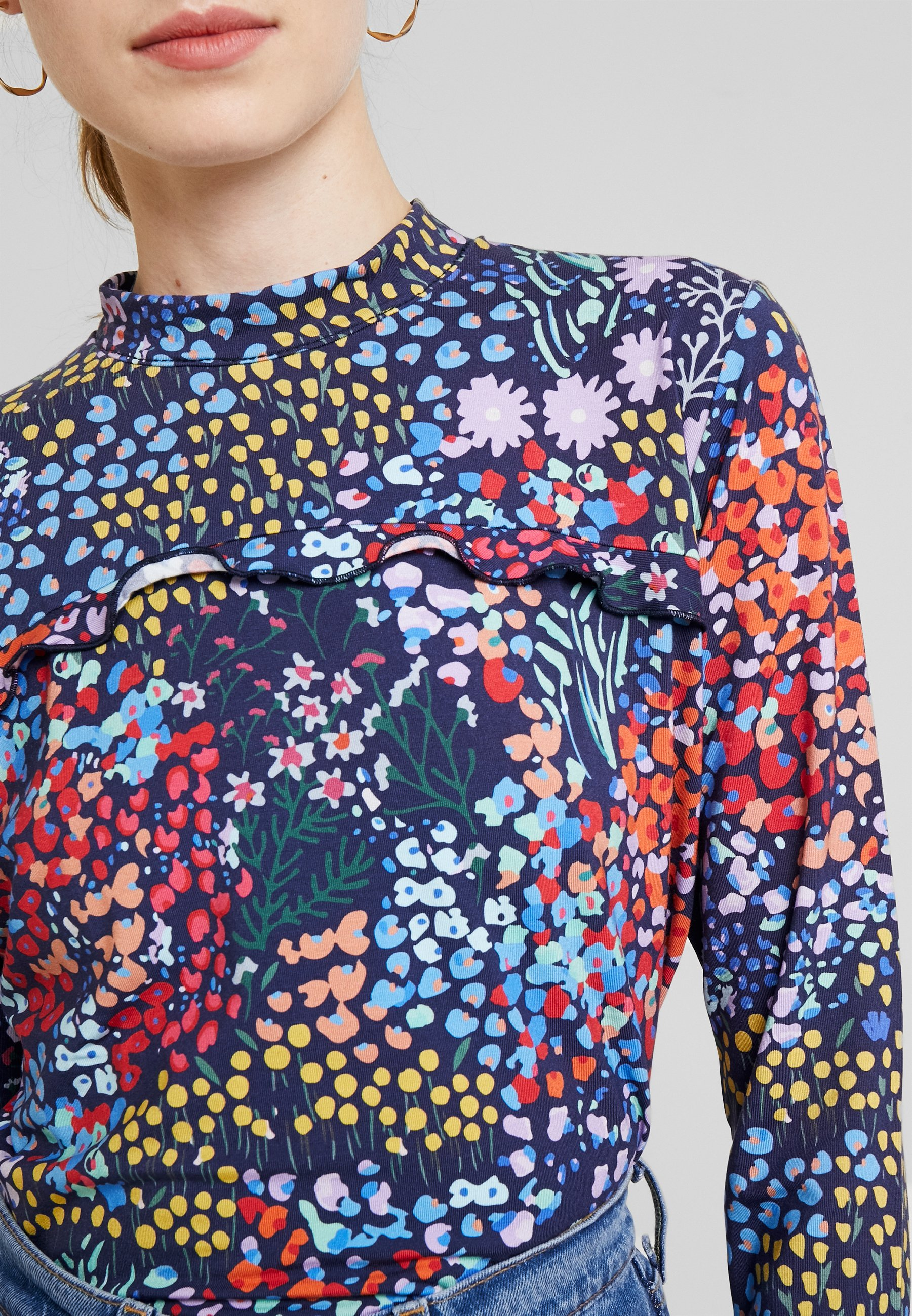 Miss Green HOW SWEET IT IS - Langarmshirt multi-coloured