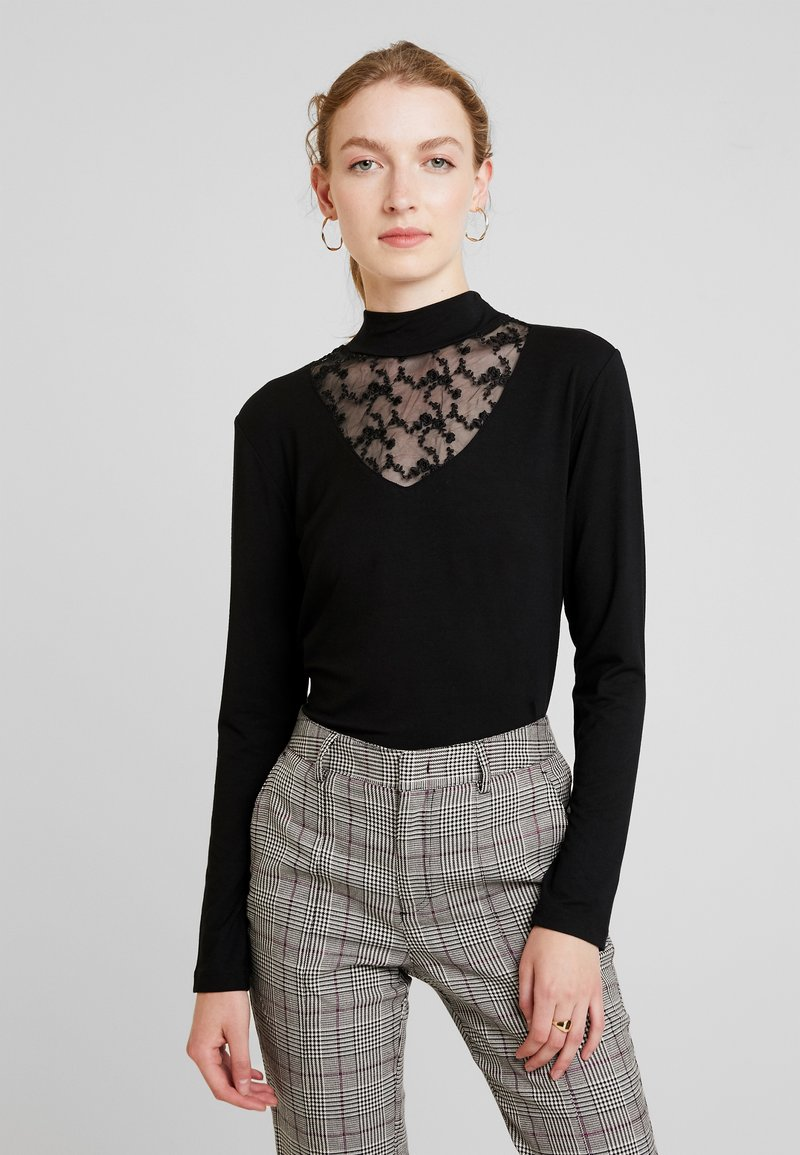 Miss Green - LOVELY DAY - Long sleeved top - black