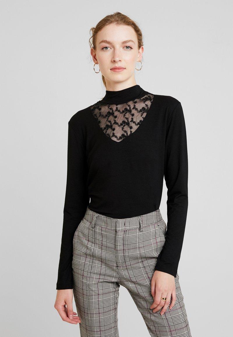 Miss Green - LOVELY DAY - Langarmshirt - black