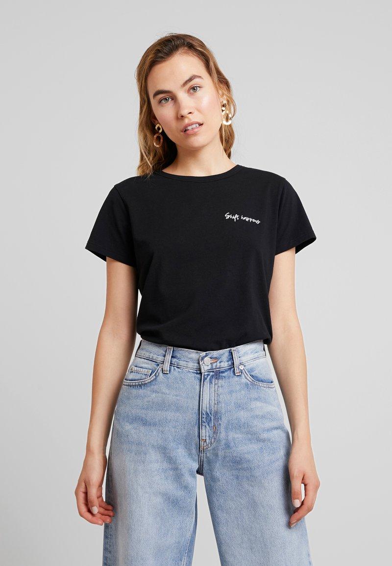 Miss Green - WHAT A WONDERFUL WORLD - T-shirts print - black