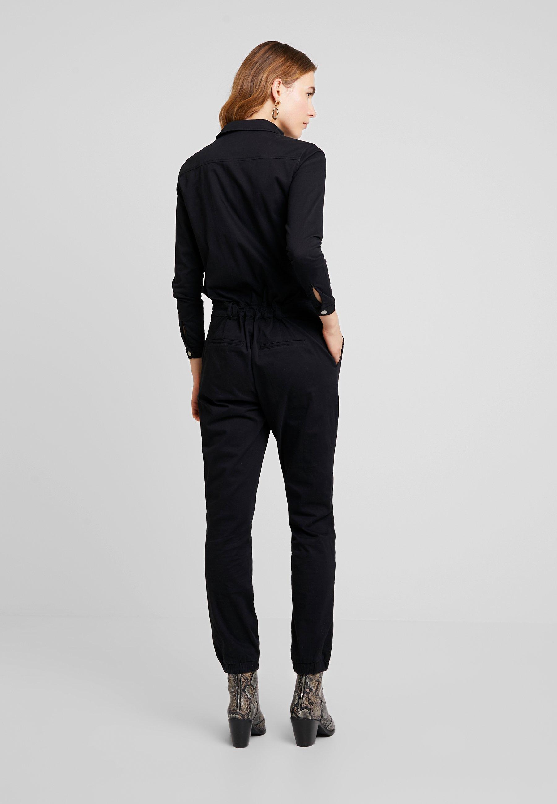 Miss Green UNDER THE BOARDWALK - Tuta jumpsuit black