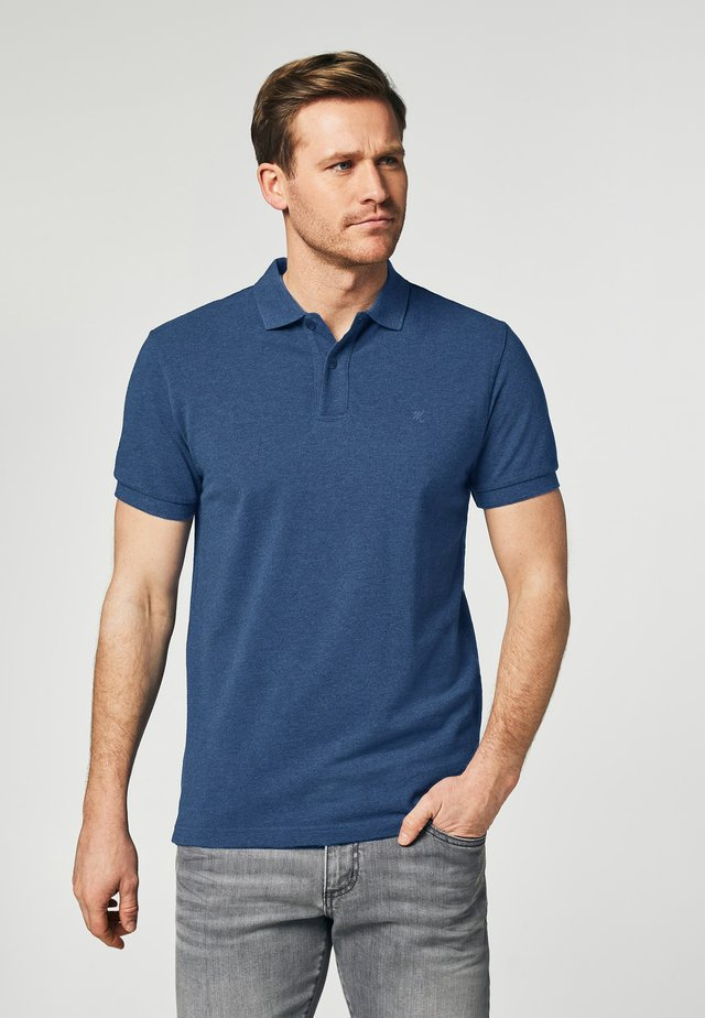 SHORT SLEEVE - Polo shirt - blue