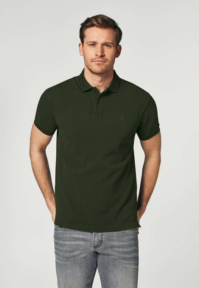 SHORT SLEEVE - Polo shirt - green