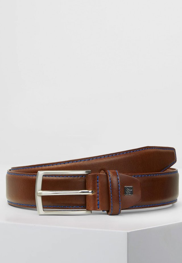 MICHAELIS  - Belt - cognac