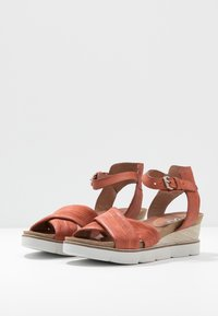 MJUS - Wedge sandals - cannella - 4