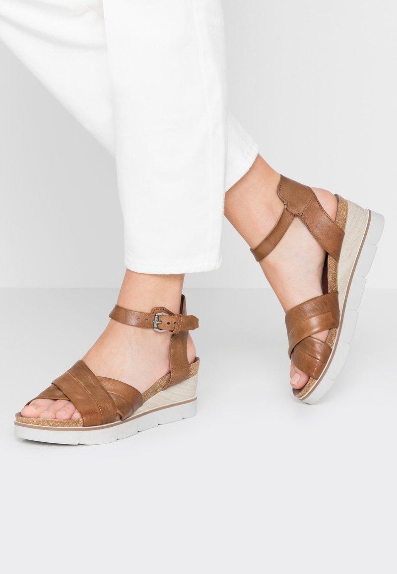 MJUS - Wedge sandals - toscano