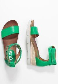MJUS - Platform sandals - menta - 3