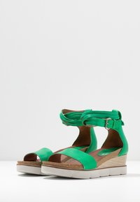 MJUS - Platform sandals - menta - 4