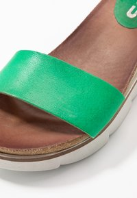 MJUS - Platform sandals - menta - 2