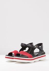 MJUS - Korkeakorkoiset sandaalit - porpoa - 4