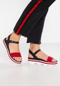 MJUS - Korkeakorkoiset sandaalit - porpoa - 0