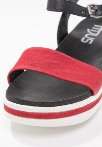 MJUS - Korkeakorkoiset sandaalit - porpoa - 2