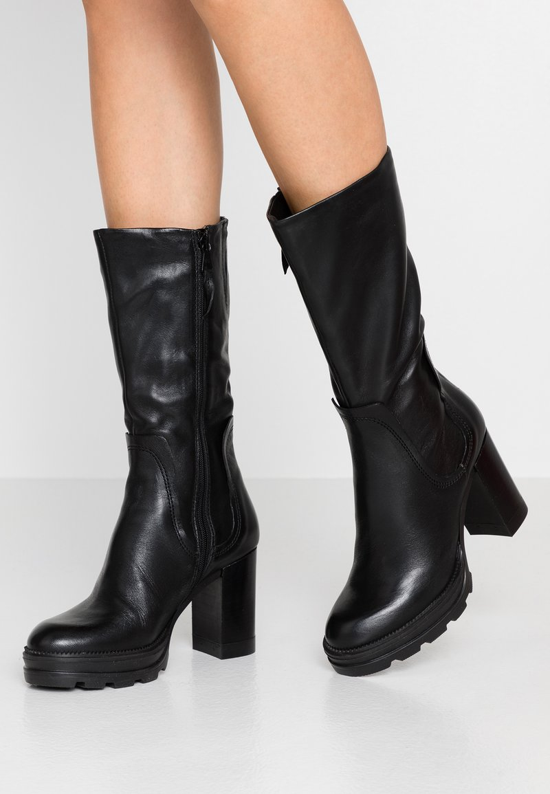 MJUS - High heeled boots - nero