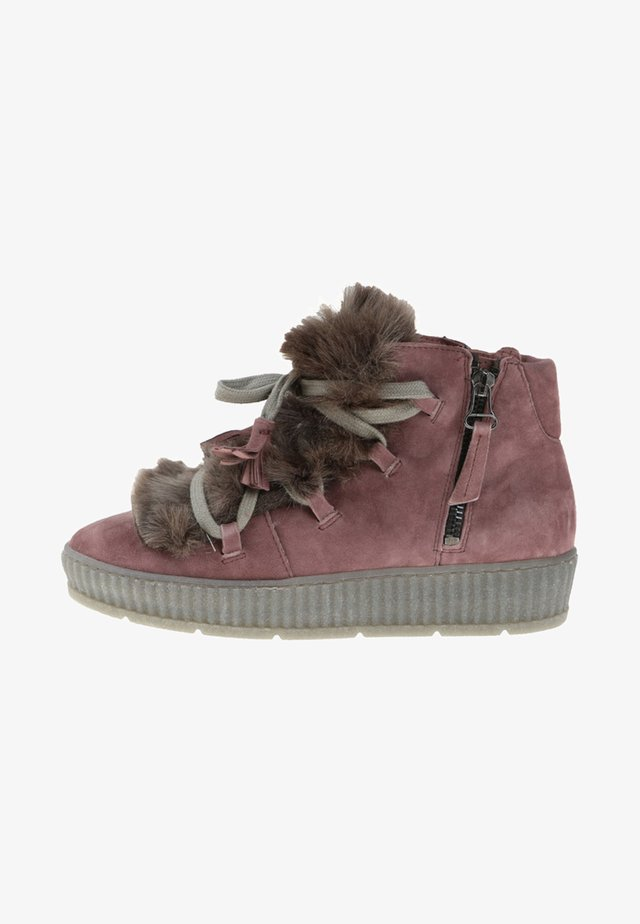 brown - Winter boots - pink
