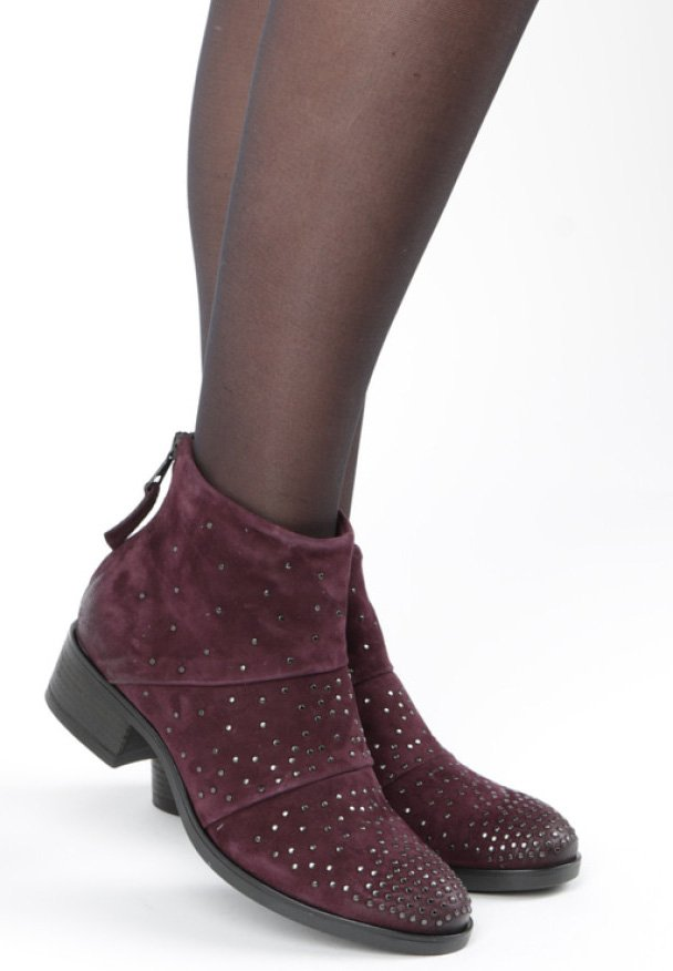 MJUS - Stiefelette - red