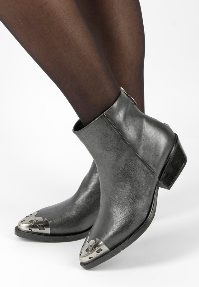 Ankle boots - gray