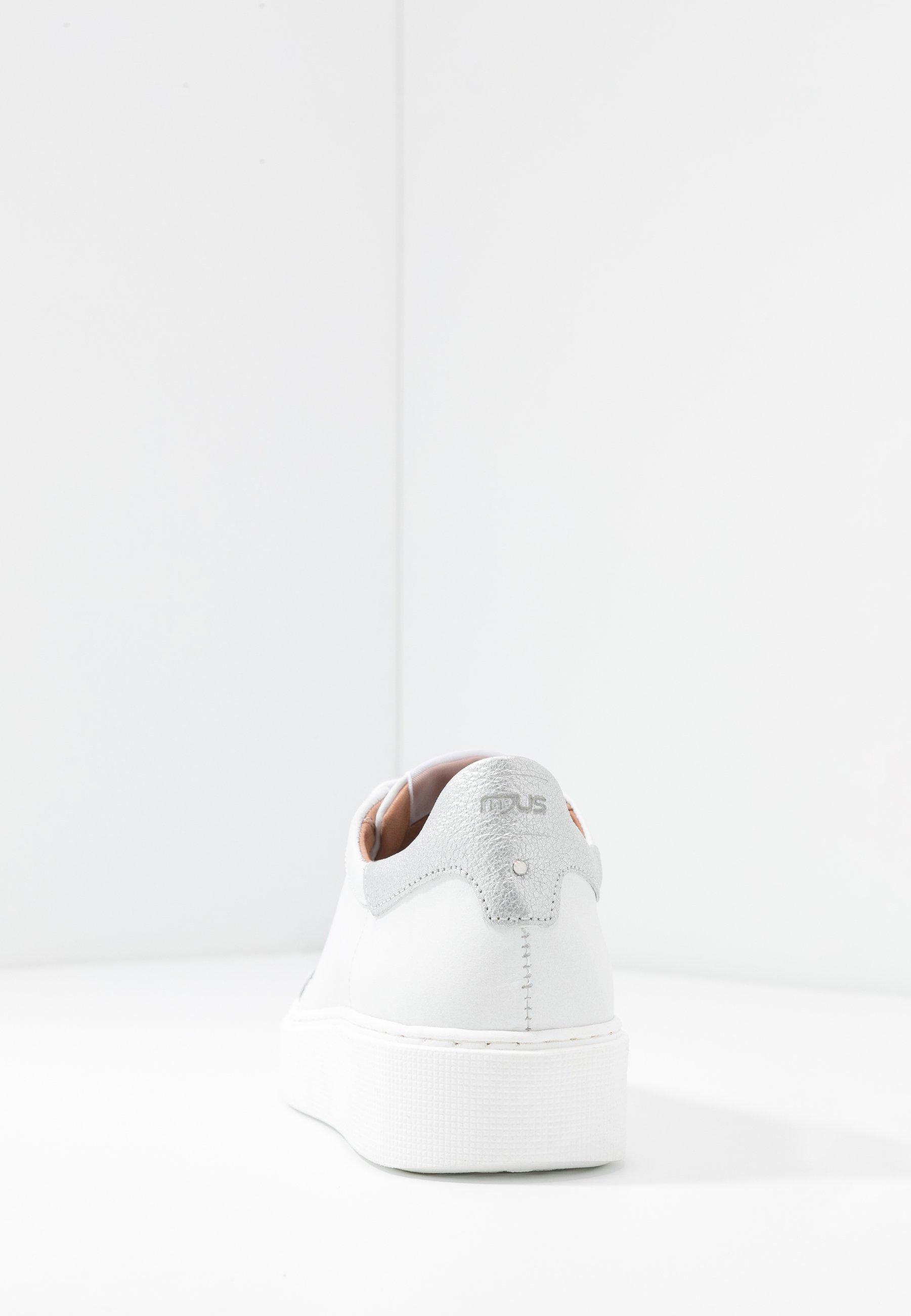 MJUS Sneakersy niskie - bianco/argento
