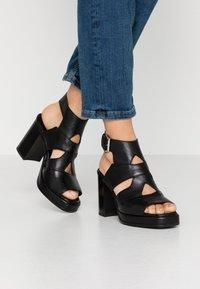 MJUS - High heeled sandals - nero - 0