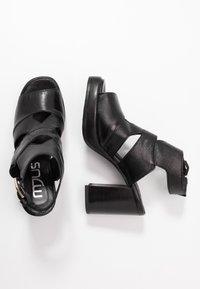 MJUS - High heeled sandals - nero - 3