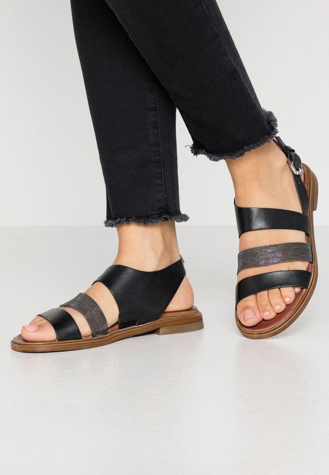 Sandals - nero passam