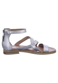 MJUS - Ankle cuff sandals - silver/grey - 5