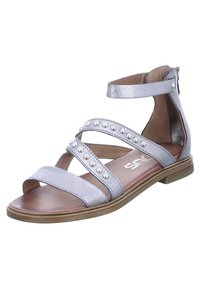 MJUS - Ankle cuff sandals - silver/grey - 1