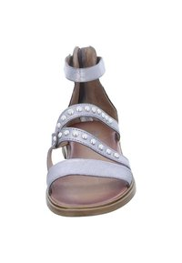 MJUS - Ankle cuff sandals - silver/grey - 4