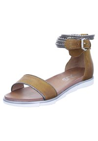 MJUS - Ankle cuff sandals - brown - 1