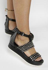 MJUS - Platform sandals - black - 0