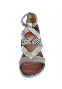 MJUS - Ankle cuff sandals - grey - 4