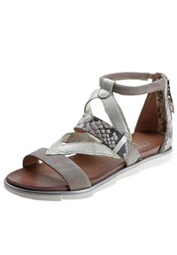 MJUS - Ankle cuff sandals - grey - 2
