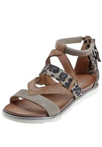 MJUS - Ankle cuff sandals - brown - 2