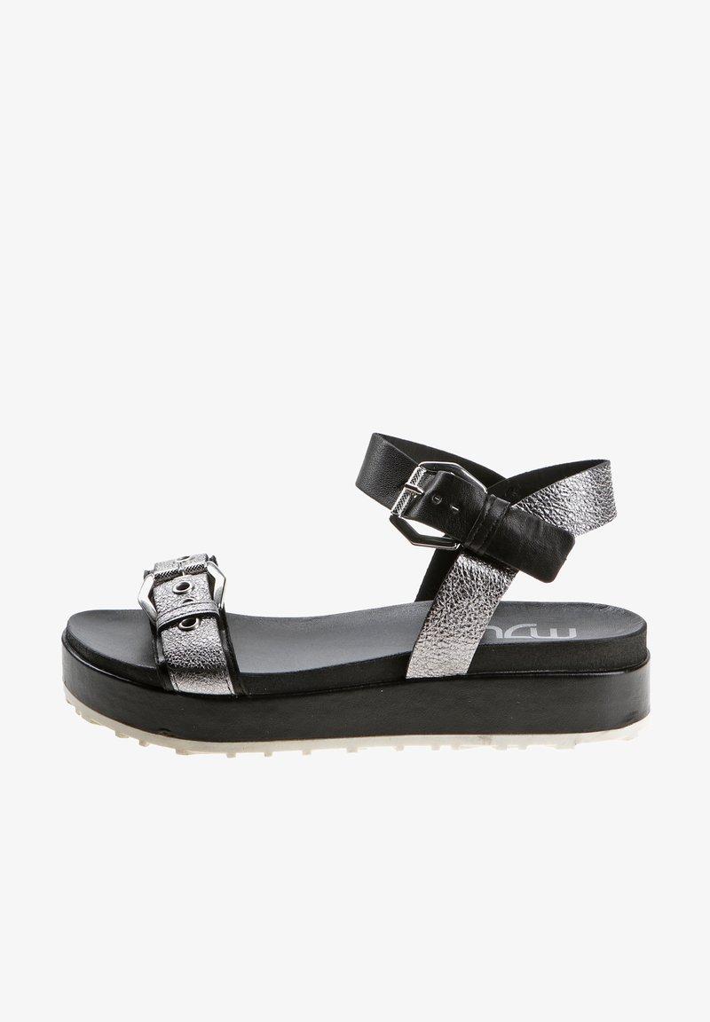 MJUS - Platform sandals - black