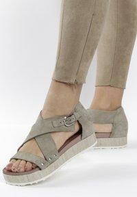 MJUS - Sandals - khaki - 0