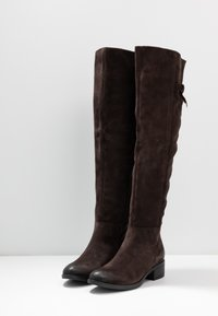 MJUS - Over-the-knee boots - mocca - 4