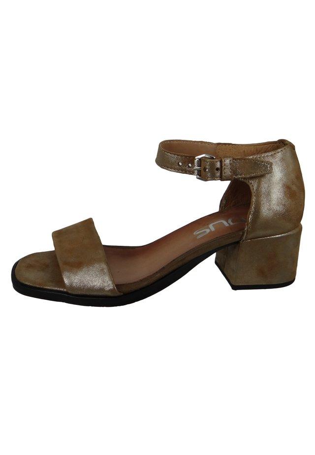 REGGIE SELLA - Sandals - bronze