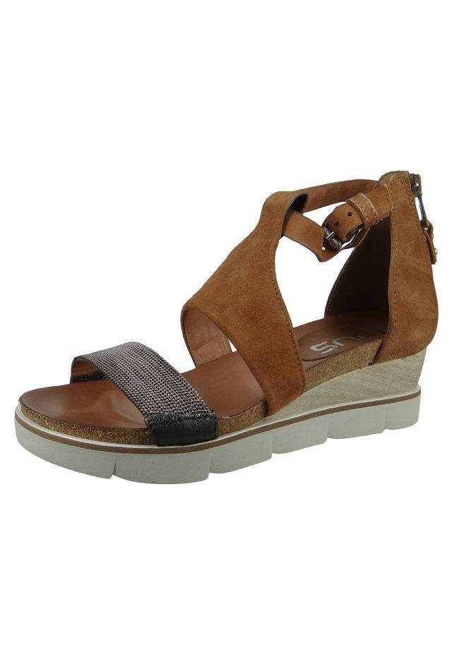 Wedge sandals - chiaro