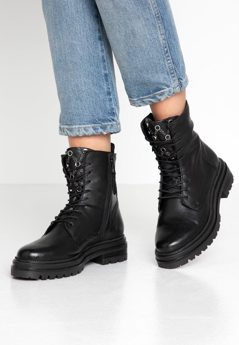 MJUS - Platform ankle boots - nero