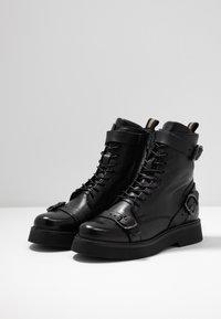 MJUS - Cowboy/biker ankle boot - nero - 4