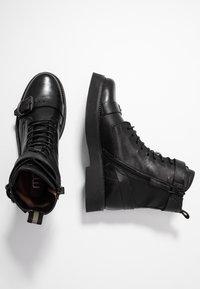 MJUS - Cowboy/biker ankle boot - nero - 3