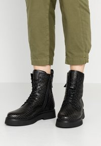 MJUS - Lace-up ankle boots - nero - 0