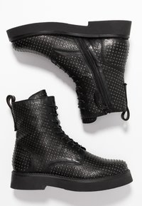MJUS - Lace-up ankle boots - nero - 3