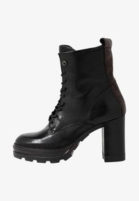 MJUS - High heeled ankle boots - nero/terra - 1